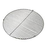 PrimoLiving Edelstahl Grillrost rund mit Haken für Schwenkgrill (Ø 60 cm mit Haken)