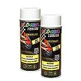 DUPLI_bundle 2X Dupli-Color Sprayplast Aerosol weiß glänzend 400ml 388057