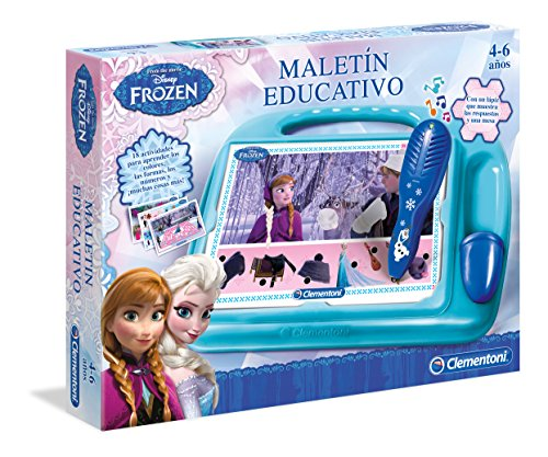 Disney Frozen - Maletín Educativo (Clementoni 550609)