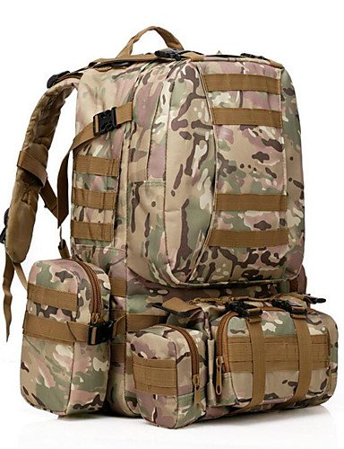 ZQ 35 L Rucksack Camping & Wandern Draußen Wasserdicht / Multifunktions Schwarz / Armeegrün / Tarnfarben Nylon cp color