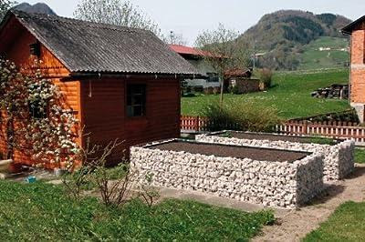 Hochbeet aus Gabionen Josef Steiner von JosefSteiner auf Du und dein Garten