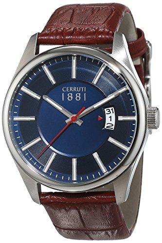 cerruti-1881-senores-reloj-analogico-de-cuarzo-cuero-palinuro-cra127sn03br