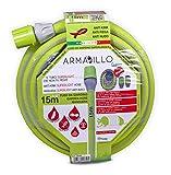 Idroeasy Armadillo Superlight 15 metri, il Tubo super leggero da Giardino anti nodo e anti torsione Made in Italy