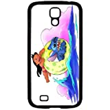 S4 i9000 Funda,Excellent Protection,Provides protection and prevents scratches,pc black Funda for samsung S4 i9000,Lilo and Stitch JZZDEJZW017953