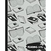 """Reading Log : Reading Journal Gifts For Book Lovers 106 Pages - (Antique Book) Large 8""""x10"""" 100 Record Page & Index Page & Want to Read (Reading Log&Journal) Vol.2: Reading Journal"""