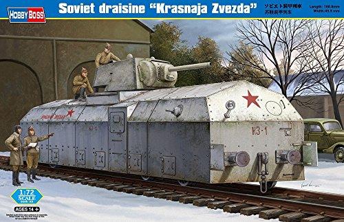 Preisvergleich Produktbild Hobby Boss 82912 Modellbausatz Soviet Armoured Train