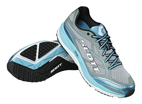 Scott running Zapatilla ws af+ support-grey/blue-7,5 usa