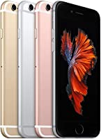 "Apple iPhone 6s, 4,7"" Display, SIM-Free, 128 GB, 2015, Roségold (Generalüberholt)"