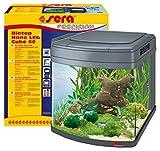 SERA 31106biotop Nano LED Cube 60Un 60L Perles d'aquarium Complet avec éclairage LED et Filtration