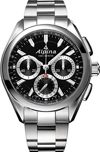Alpina Geneve Alpiner 4 Flyback Chronograph Herren Automatikchronograph Manufakturkaliber