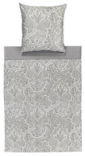 Zucchi TALA Bettwäsche 155x220 / 80x80 V7 grau