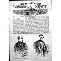 Stampa Antica della GEN dell'Avvocato di GEN Fitzroy Kelly Frederick Thesiger del Procuratore Legale…