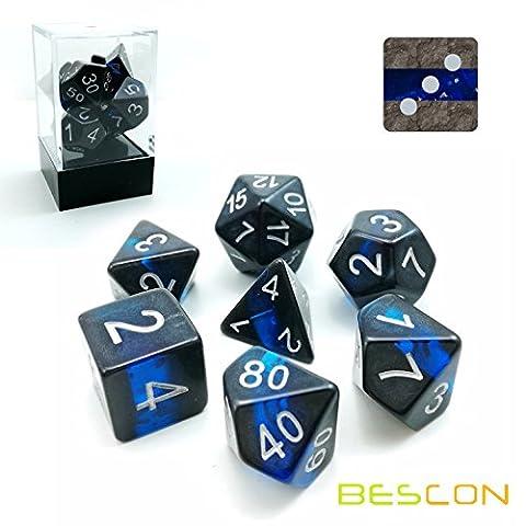 Bescon Polygonal Würfel Spielwürfel Mineralische Steine GEM VINES D&D Dice