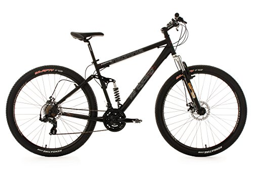KS CYCLING INSOMNIA   BICICLETA DE MONTAÑA DE DOBLE SUSPENSION  COLOR NEGRO  RUEDAS 29  CUADRO 51 CM