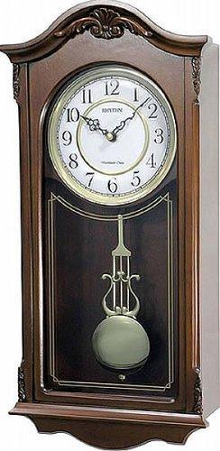 Watching Clocks Luxus-Wanduhr / Pendeluhr aus Holz, mit Westminster-Melodie