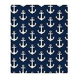 CafePress–Anchor Me–weicher Fleece Überwurf Decke, 127x 152,4cm Stadion Decke, weiß, 50x60