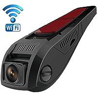Pruveeo F5 Dashcam avec Wi-Fi, Design Discret, FHD 1080P avec Vision nocturne