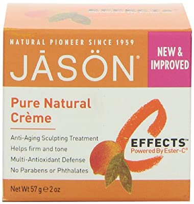 Jason C Effects Pure Natural Creme Anti Ageing Sculpting Treatment (57g, No Parabens or Phthalates) by Jason Natural Products