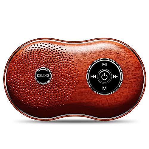 Jian E -// Hölzerner Korn Bluetooth Sprecherhandy drahtloser Minisubwoofercomputer kleines Audioauto im Freien Karte Walkman-Musikspieler Kleiner Sprecher // (Farbe : B)