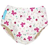 Charlie Banana Schwimmwindel Trainingswindel 2-in-1 the fashion collection Butterfly in weiß/rosa Small 0-6 Monate Trainer