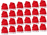 Alsino Blink LED Weihnachtsmützen 1-432 Stück rot 15, wählen:24 Stück