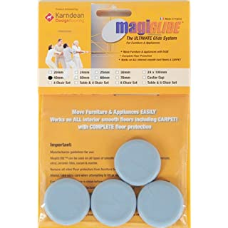 Furniture & Appliance Movers by MagiGLIDE 4 Pack 40mm Disc. The ULTIMATE glider for furniture & appliances with complete floor protection, endorsed by Karndean Designflooring.