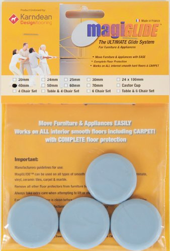 Appliance Movers by MagiGLIDE 4 Pack 40mm disc,