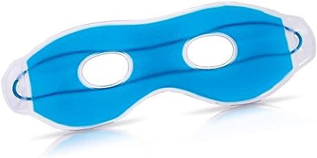Maschera in Gel Rilassante Occhi con Fori Sollievo Occhi Stanchi Vista