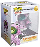 Funko 13090 - Overwatch, Pop Vinyl Action Figure 177 D.Va with Meka 6