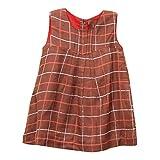 My Little Lambs 100% Viscose Brown Dress...