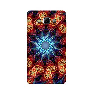 PSYCHEDELIC FRACTAL DESIGN BACK COVER FOR SAMSUNG GALAXY A8