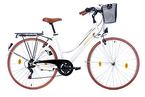 Leader Elysee Comfort 28 Zoll Citybike Damen Weiß (2017)