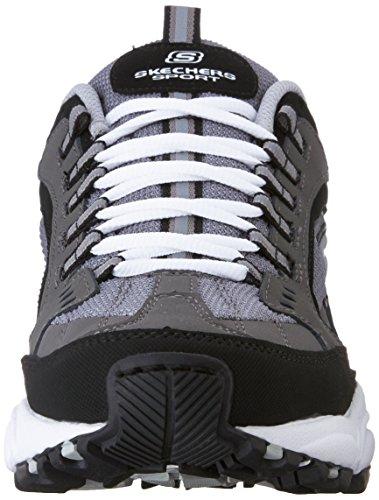 Skechers Stamina Nuovo Herren Charcoal/Black