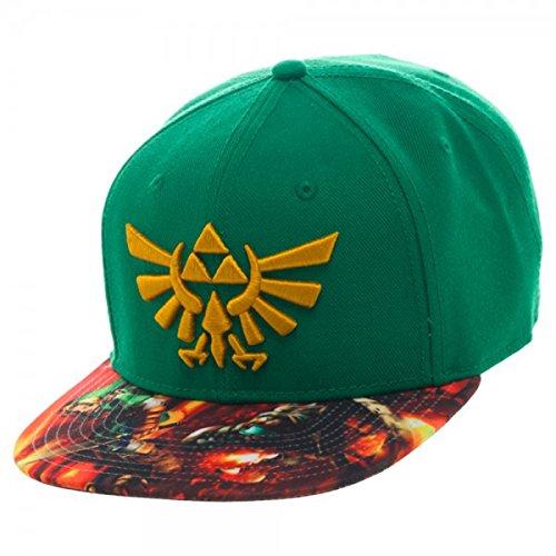 The Legend Of Zelda Triforce Logo Sublimated-Bill snapback ha