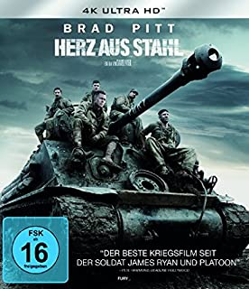 Herz aus Stahl (4K Ultra HD) [Blu-ray]