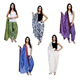 5 (FIVE) PCS PATIALA SALWARS WITH DUPATT...