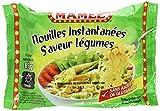 MAMEE Nouilles Instantanées Arôme Légumes - Lot de 10