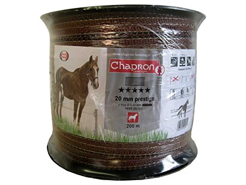 CHAPRON LEMENAGER Ruban Prestige 20 mm Marron