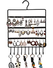 Kurtzy Metal Jewellery Earring Display Stand Holder Organizer