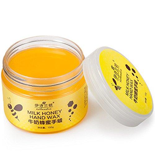 fanxing Honig Hand Wachs Honig Milch Paraffin Wachs Hand Haut Pflege Feuchtigkeitsspendende Whitening Maske