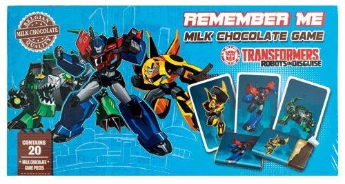 Transformers Schokoladen Memo Spiel (90 g)