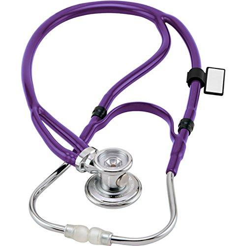 mdf-stetoscopio-sprague-x-rappaport-ridisegnato-della-con-testine-convertibili-per-adulti-bambini-e-