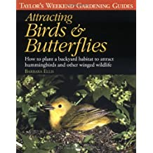 Taylor's Weekend Gardening Guide to Attracting Birds and Butterflies: How to Plant a Backyard Habitat to Attract Hummingbirds and Other Winged Wildlife (Taylor's Weekend Gardening Guides) by Barbara Ellis (1997-02-03)