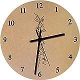 Azeeda 275mm 'Efeu' Große MDF-Uhr (CK00009600)