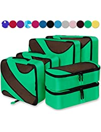 661afb39b7 Eono Essentials 6 Set Packing Cubes,3 Various Sizes Travel Luggage Packing  Organizers