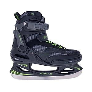 Spokey Unisex Evo 1,5Eishockey Schlittschuhe 37, Mehrfarbig, one Size