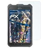 atFolix Panzerfolie für Samsung Galaxy Tab Active 8.0 (SM-T360) Folie - 2 x FX-Shock-Clear stoßabsorbierende ultraklare Displayschutzfolie