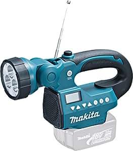 Makita-lampe Torche Led Avec Radio Am/fm à Batterie Li-ion-bmr050