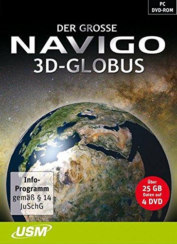 Der große Navigo 3D Globus Reise-outlet