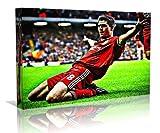 Best Image Pop Filters - Steven Gerrard Liverpool F.C. Pop Art Framed Canvas Review